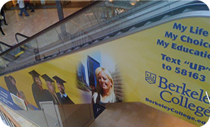 Escalator Cling Advertising Products