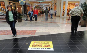 Floor Cling Advertising Products